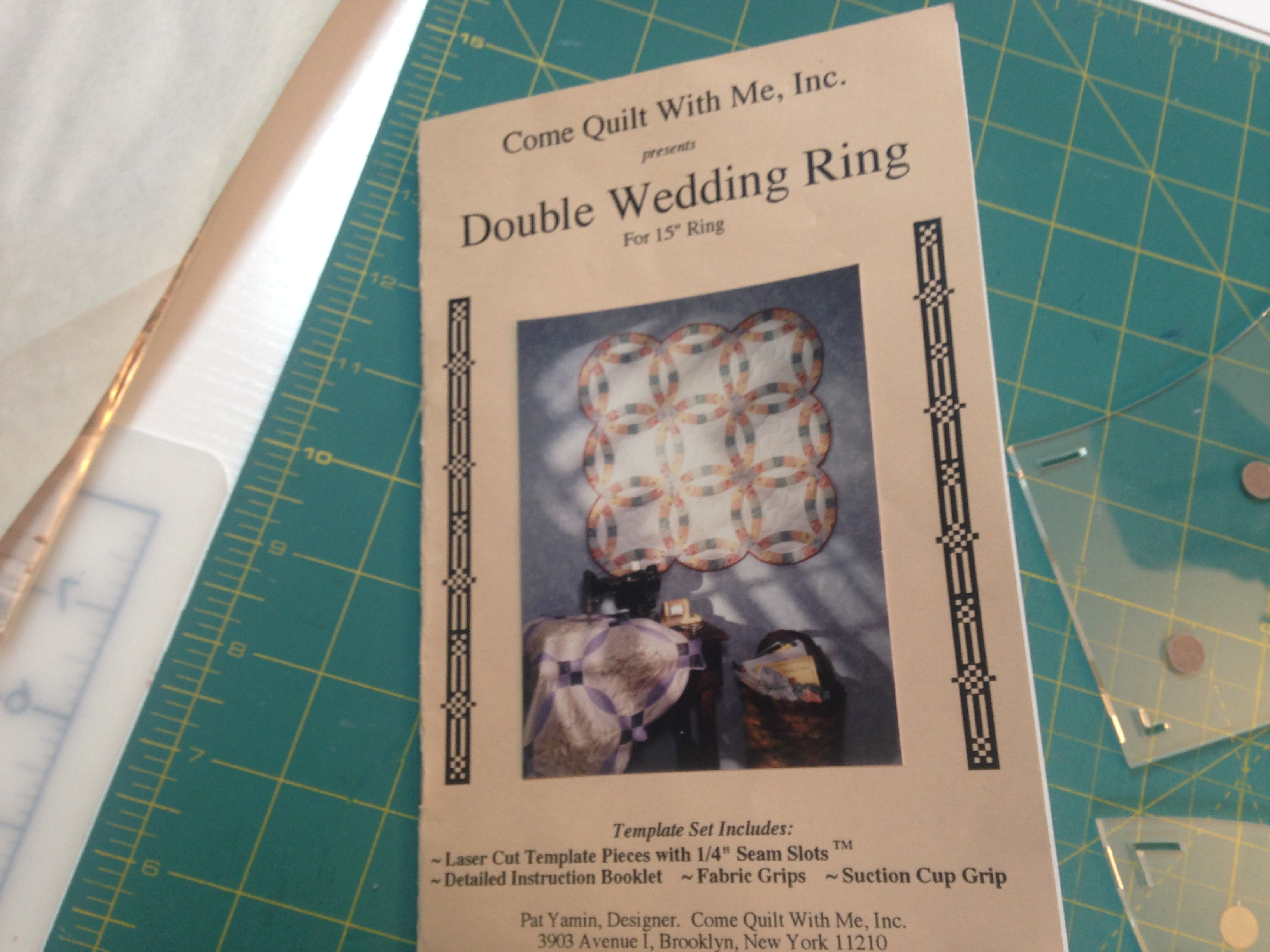 Double Wedding Ring Quilt Quilting Is My Yoga